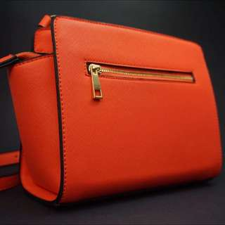 Coral Shoulder/side Bag