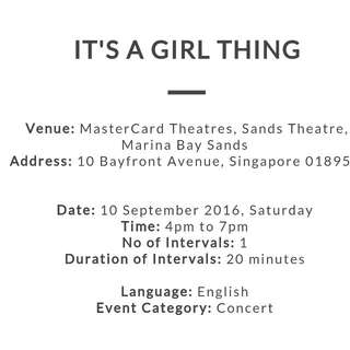 2 tickets to IISuperwomanII for IAGT! For Tomorrow (10/09/16) At MBS  2 for $100