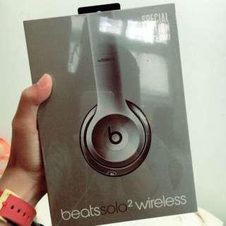 | 全新 | Beats Solo2 Wireless 太空灰