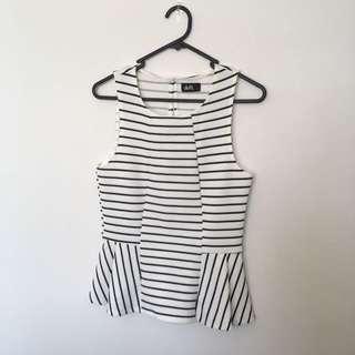 Stripe Cute Top Size s