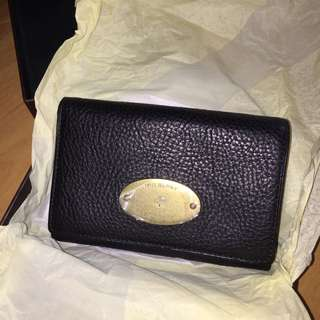 BNIB Mulberry French Purse Natural Veg Tanned