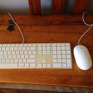 Apple Keyboard And Mouse