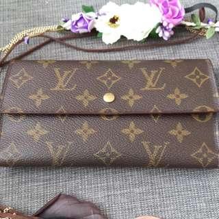 Authentic Louise Vuitton Trifold Wallet