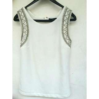 forever21 white top