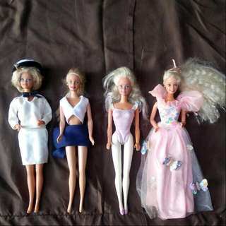 ALL FOR 800! BARBIE DOLLS / COLLECTIBLES