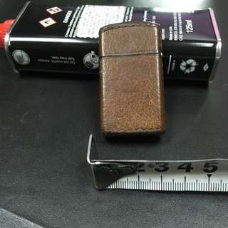 ZIPPO OIL LIGHTER LEATHER TYPE