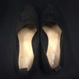 Next Black Suede Shoes