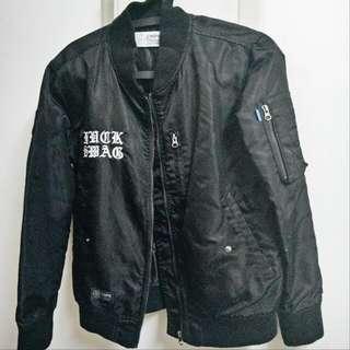 CMPS MA1黑色外套