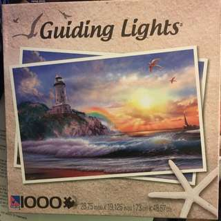 NEW 1000 Piece Guiding Lights Puzzle