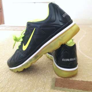 Nike Air Max Neon Yellow/black