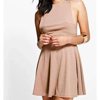 Size 8 Strappy Skater Dress