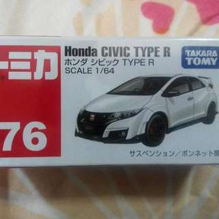 Tomica Civic Fd Fdr2 Fkr2 76