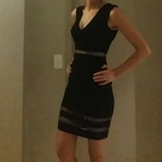 Black Dress Ally Size 8 New With Tags