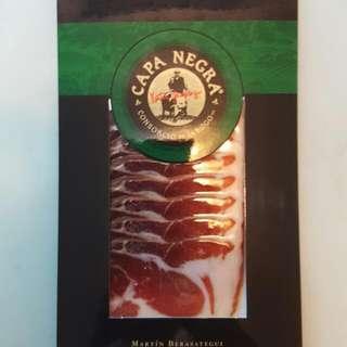 西班牙黑毛豬火腿片80克(36個月)