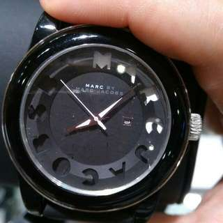 MARC JACOBS LEATHER WATCH
