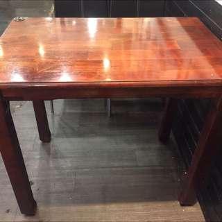 實木原木桌子餐桌出清 桌子長方形的60*90ㄧ張699 一共2張  台北市民生東路三段自取