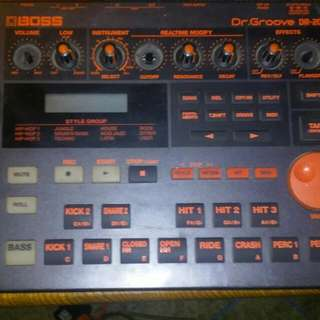 BOSS Dr. GROOVE DR-202 Drum Machine