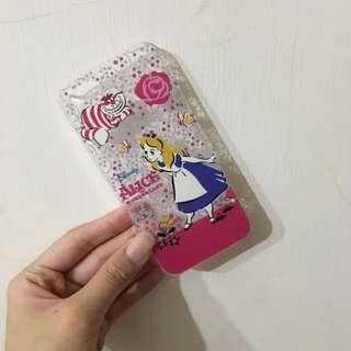 5s愛麗絲夢遊仙境手機殼(硬)