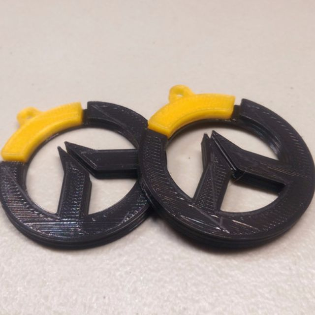 3d printed overwatch keychain keyring for sale toys games