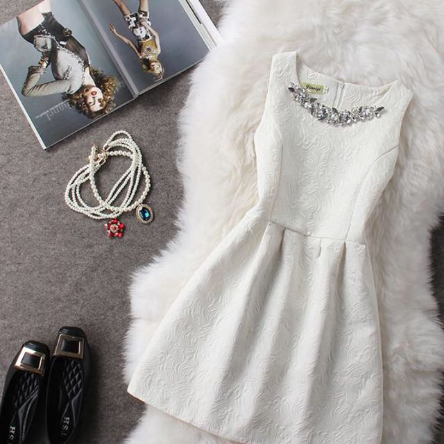 新款韓版春夏名媛氣質修身公主洋裝小禮服