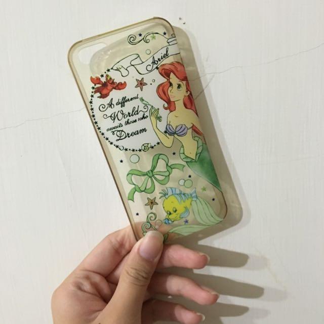 5s小美人魚手機殼(軟)