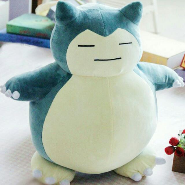 超療癒 神奇寶貝 卡比獸 絨毛玩偶抱枕
