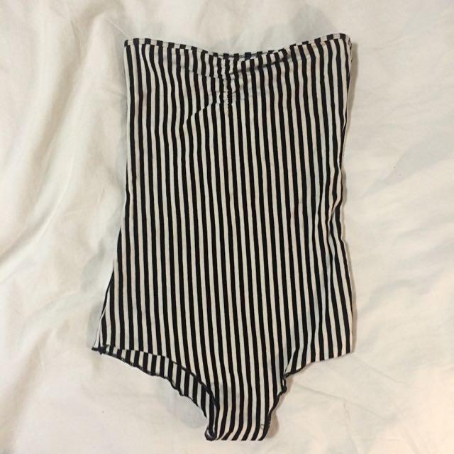 AA Striped Bodysuit