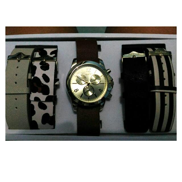 Aldo Watch (Interchangeable Straps)