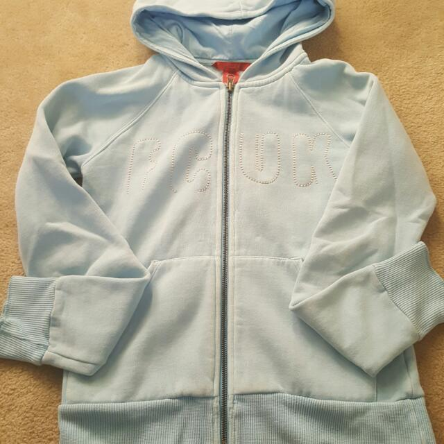 Baby Blue FCUK Designer Sweater - Size Small