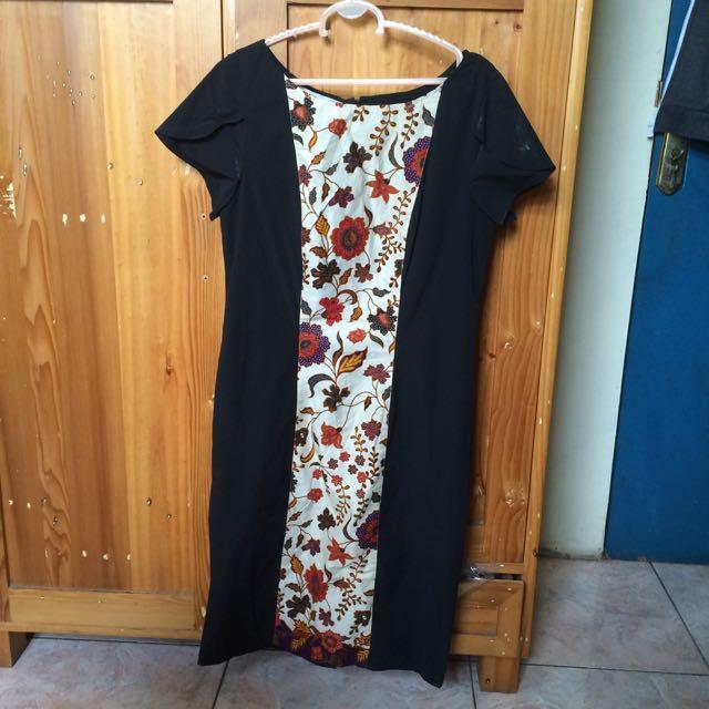 Batik Elegant Dress