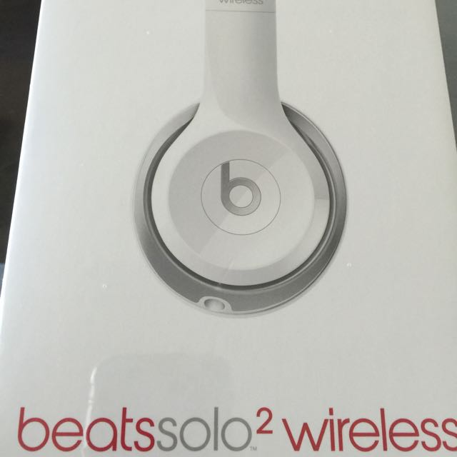 Beats Solo 2 Wireless White