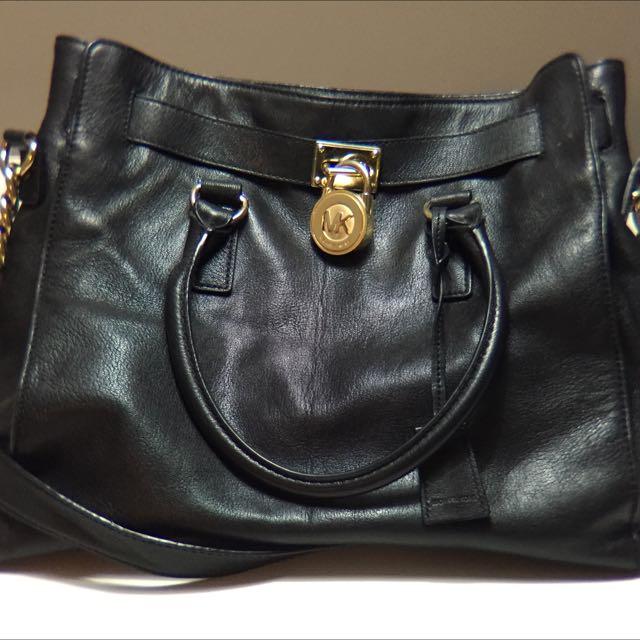 Black Handbag MK