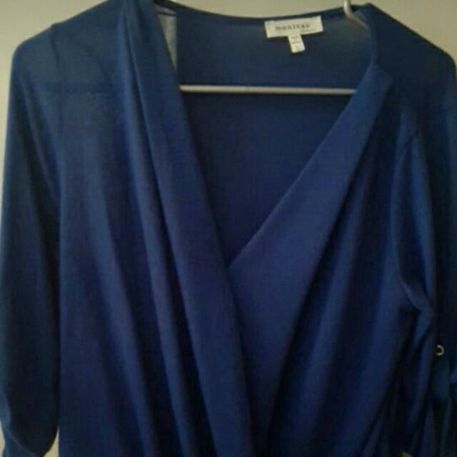 Blue Womens Shirt