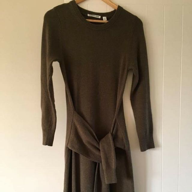 Country Road Knit Tie Dress