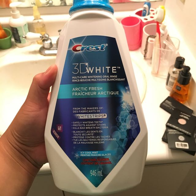 Crest 3D White Oral Rinse