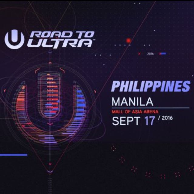 Discounted!! Road To Ultra Philippines 2016 Tickets!