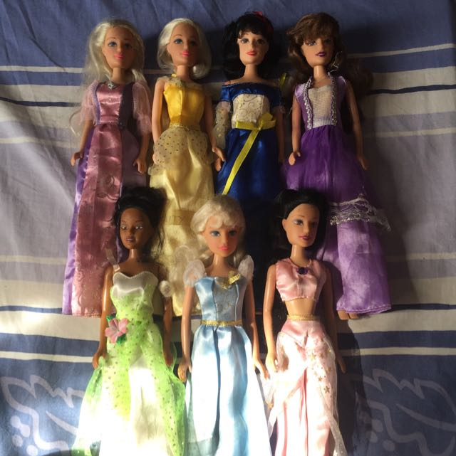 Disney Princesses Looked A Like Dolls