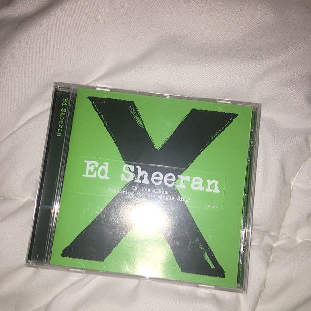 Ed Sheeran Multiply Album