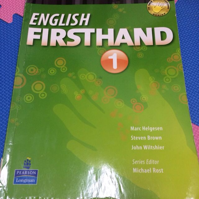 English Firsthand 1