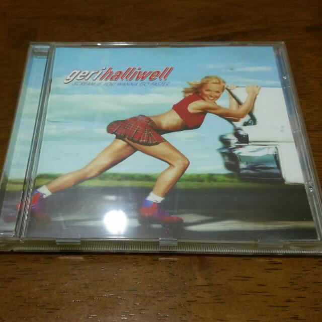 Geri Halliwell Scream If You Wanna Go Faster CD Spice Girls