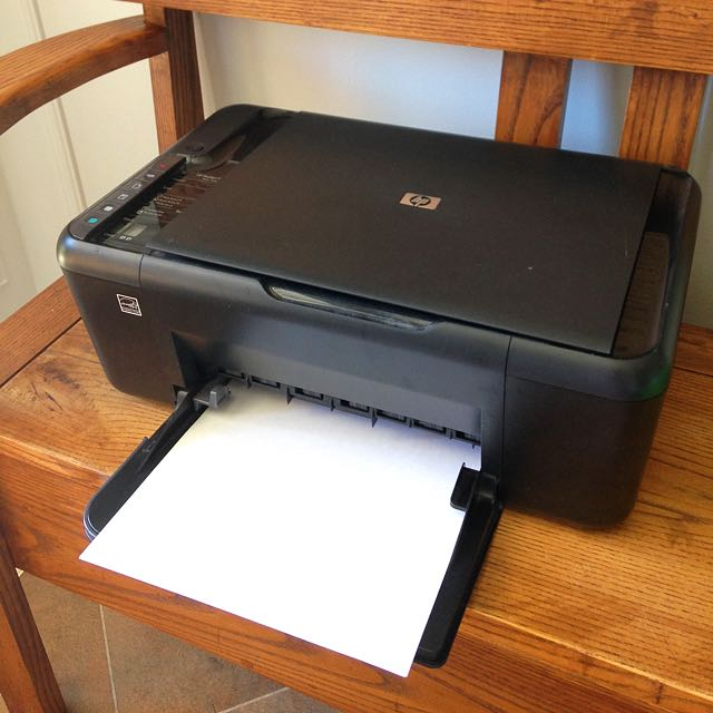 HP Deskjet Printer And Scanner
