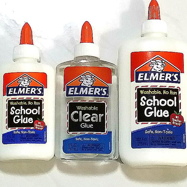 7 625 fl oz Elmer s No run School Glue White 225ml Design .
