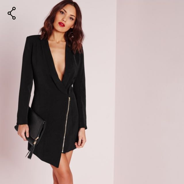 Missguided Blazer Dress