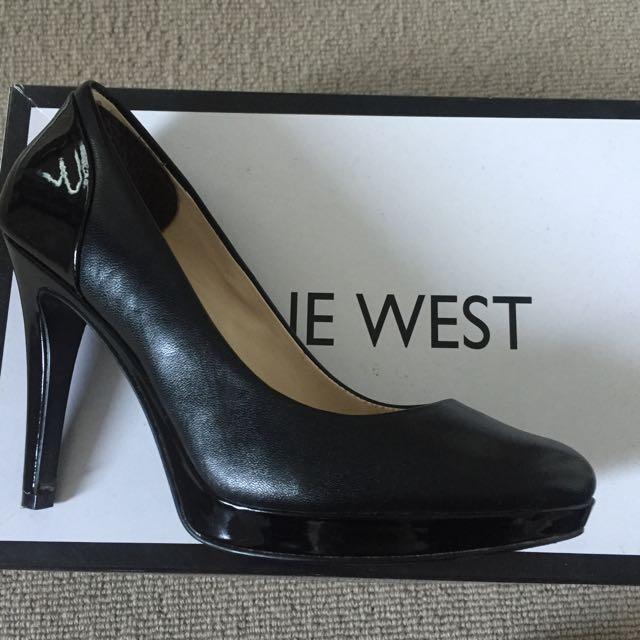 NINE WEST black High Heels