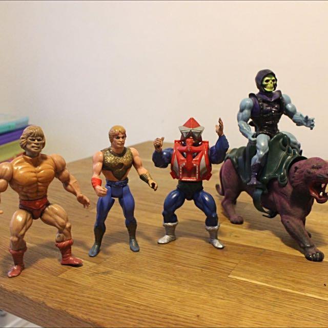"Original 83"" Mattel Masters Of The Universe Figures"