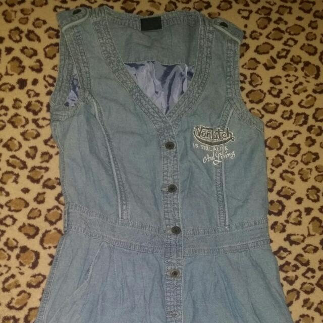 Original Vondutch soft Denim Dress
