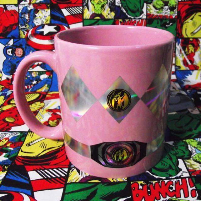 Power Rangers 金剛戰士 金鋼戰士 粉紅戰士 翼龍 馬克杯 杯子