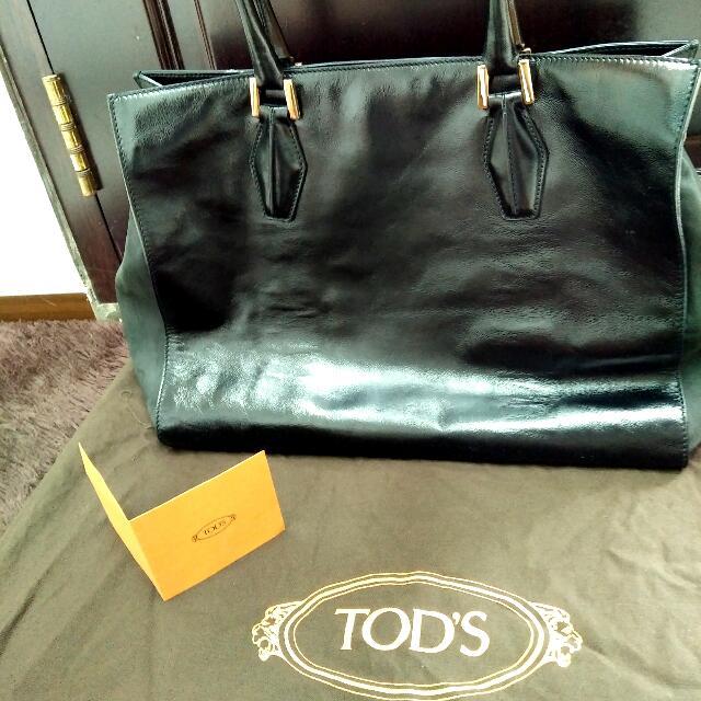 Preloved TOD'S bag Original..