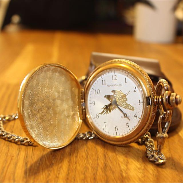 Renaissance Golden Pocket Watch