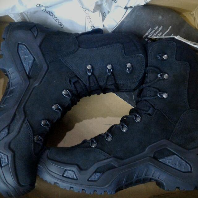 Sepatu LOWA Z8N Gore-tex Hi Black